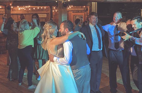 Live Well Farm Wedding Venue DJ