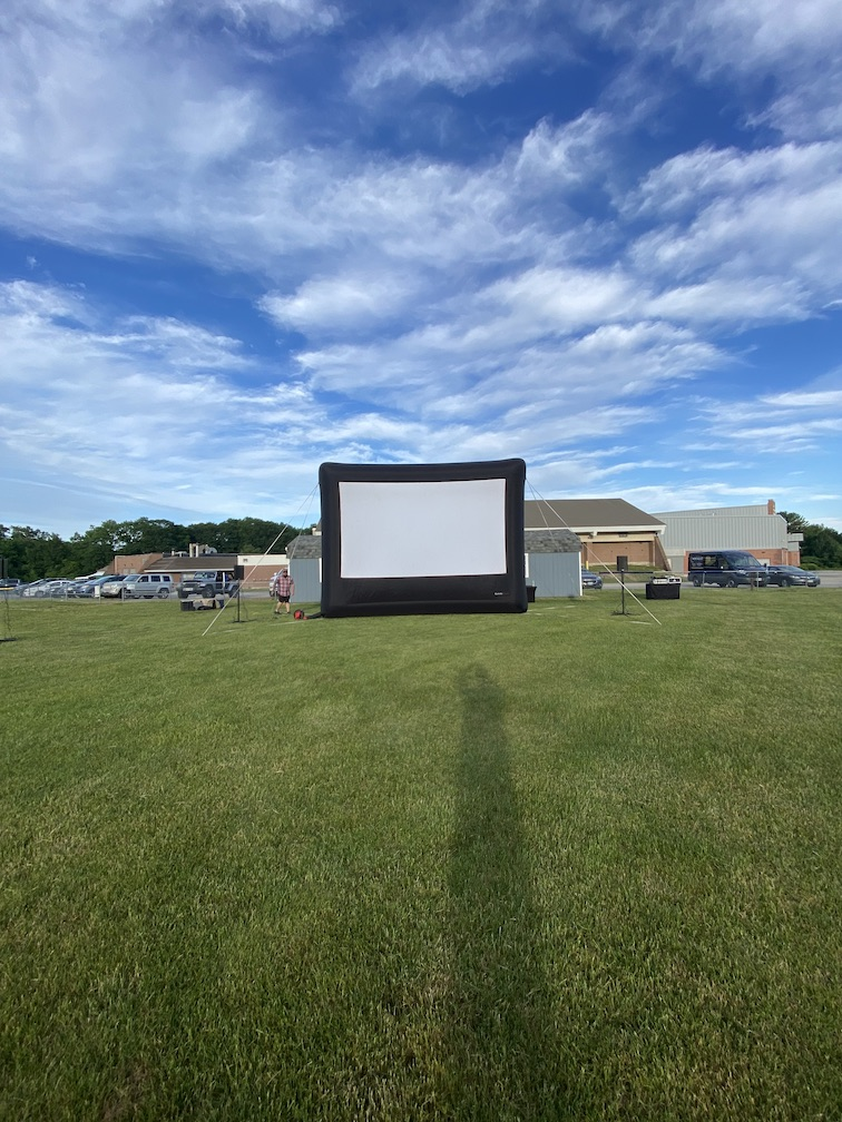 Inflatable Movie Screen Rental Maine