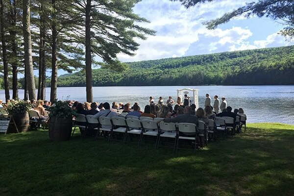 Maine Wedding Ceremony DJ and Sound System